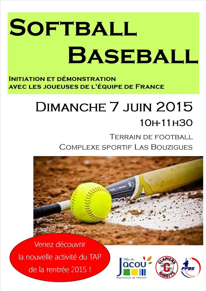 Affiche Softball-07-06-2015