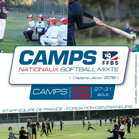 1er Camp National de Softball à Clapiers !